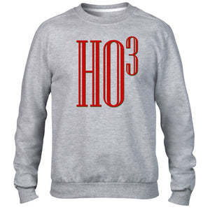 Ho Cubed Christmas Festive Sweater Funny Math School Teacher Party Mathematician