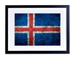 Iceland Poster Print Country Photo Print Reykjavik Picture World Flag Gift PP132