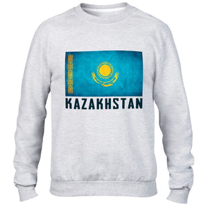 Kazakhstan Mens Sweatshirt Womens Sport Jersey Football Sweater Top All Sizes