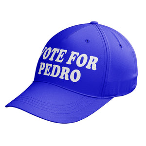 Vote For Pedro Baseball Cap Fancy Dress Outfit Funny Hat Napoleon Dynamite C12
