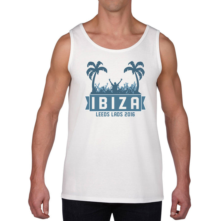 Lads Holiday TANK TOP VEST Stag Hen PARTY PERSONALISED Summer Vest T Shirt 93