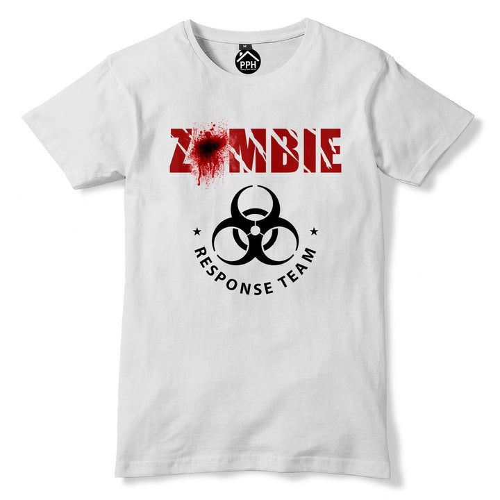 Zombie Response Team T Shirt Fathers Day Dead Walkers Apocalypse The Walking 217