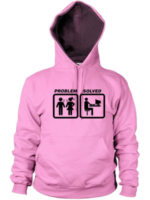 Computer Problem Solved Hoodie Funny Present Women Men Hoody Video Games Work PC