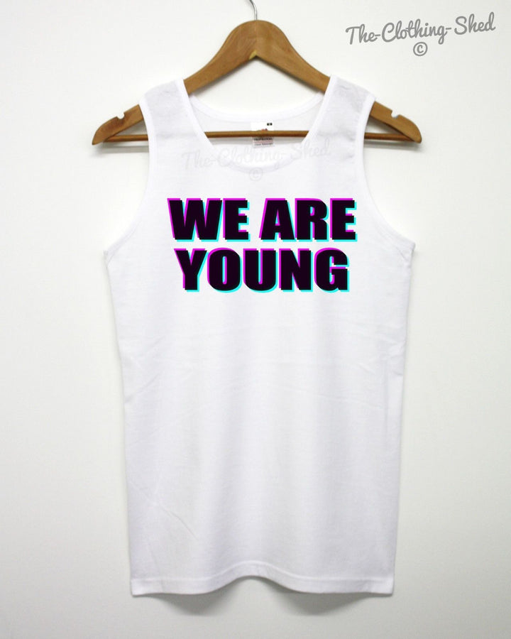 We Are Young Vest Tank Top Summer Old Birthday Holiday YOLO Swag Indie Dope Shop