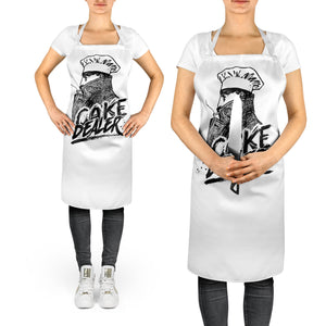 Cake Dealer Apron - Funny Parody Gift Idea Catered To Suit Everyone - Allover Printed Sublimation Apron