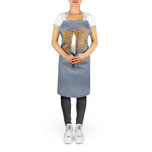 Beer Makes Everything Better Apron Funny Retro Gift Idea