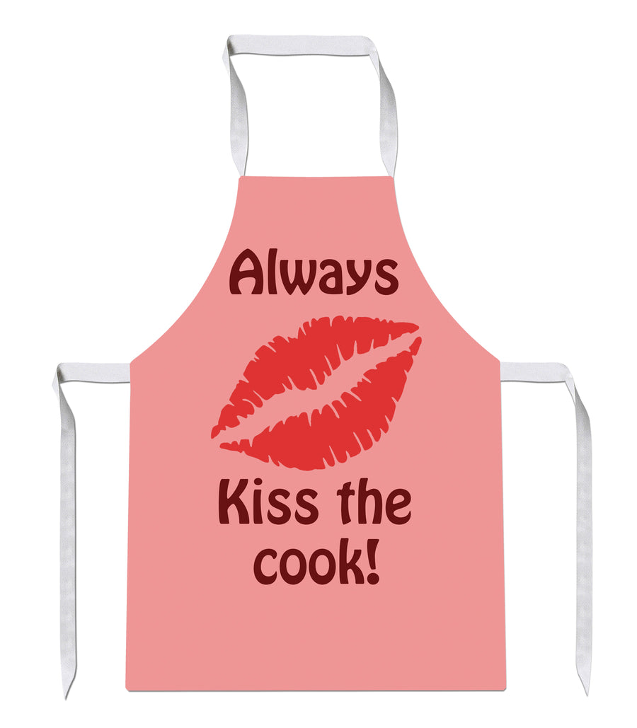 Kiss The Cook Chef Bake Kitchens Novelty Funny APRON Kitchen Tabard Linen 31