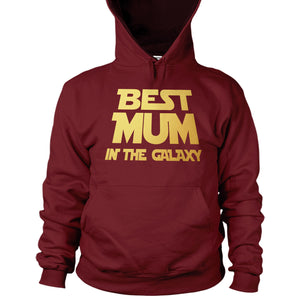 Best Mum In The Galaxy Hoodie Mothers Day Present Gift March Top Women Jumper