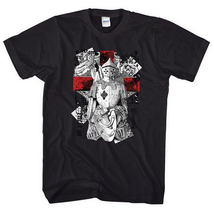 St George Knight Armour England Cross T Shirt Men Women Kids Warrior MMA Gym L33