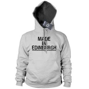 Made In Edinburgh Hoodie Novelty Hometown Hoody Mens Football Scotland 634