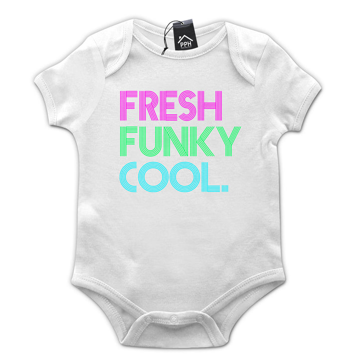 Fresh Funky and Cool Funny NEON Festival T Shirt Baby Grow Body Suit Gift 659