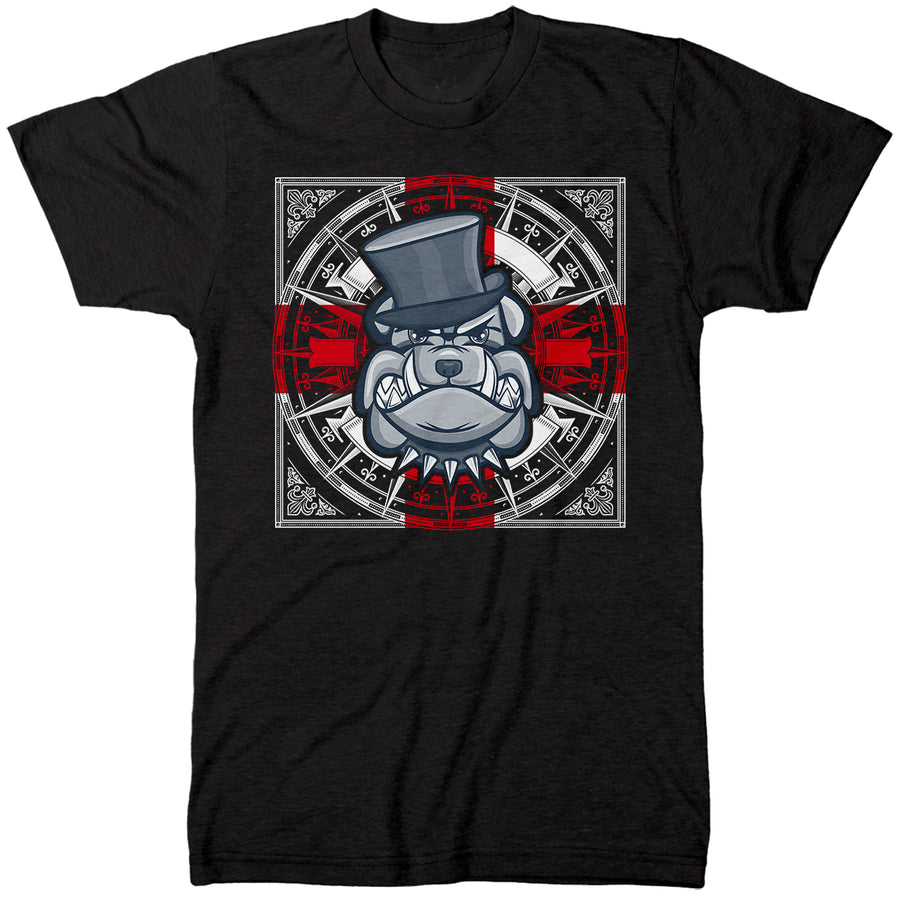 British Bulldog England  T Shirt - St Georges Day English Style Tee