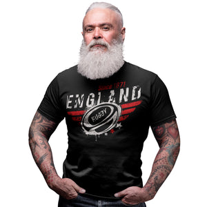 England Rugby Nations T Shirt - 2019 Six Nations & World Cup Gift Idea 5/6 Years to 5XL Mens