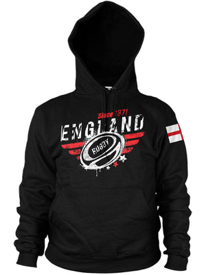 England Rugby Nations Hoodie - 2019 Six Nations & World Cup