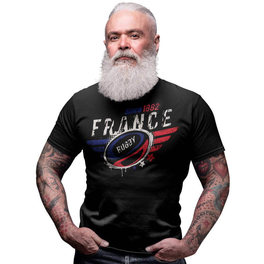 France Rugby Nations T Shirt - 2019 Six Nations & World Cup Gift Idea 5/6 Years to 5XL Mens