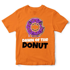 Dawn Of The Donut Halloween T Shirt - Simple Costume Idea For Halloween Parties - Halloween Gift Idea - Funny Scary Kids Halloween Tshirt