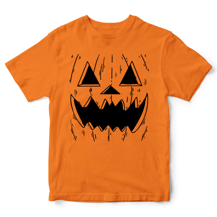 Pumpkin T Shirt - Halloween Pumpkin Carving Tee- Easy And Simple Halloween Costume For Kids - Perfect Trick-or-Treat Present Idea - Gifts for Children
