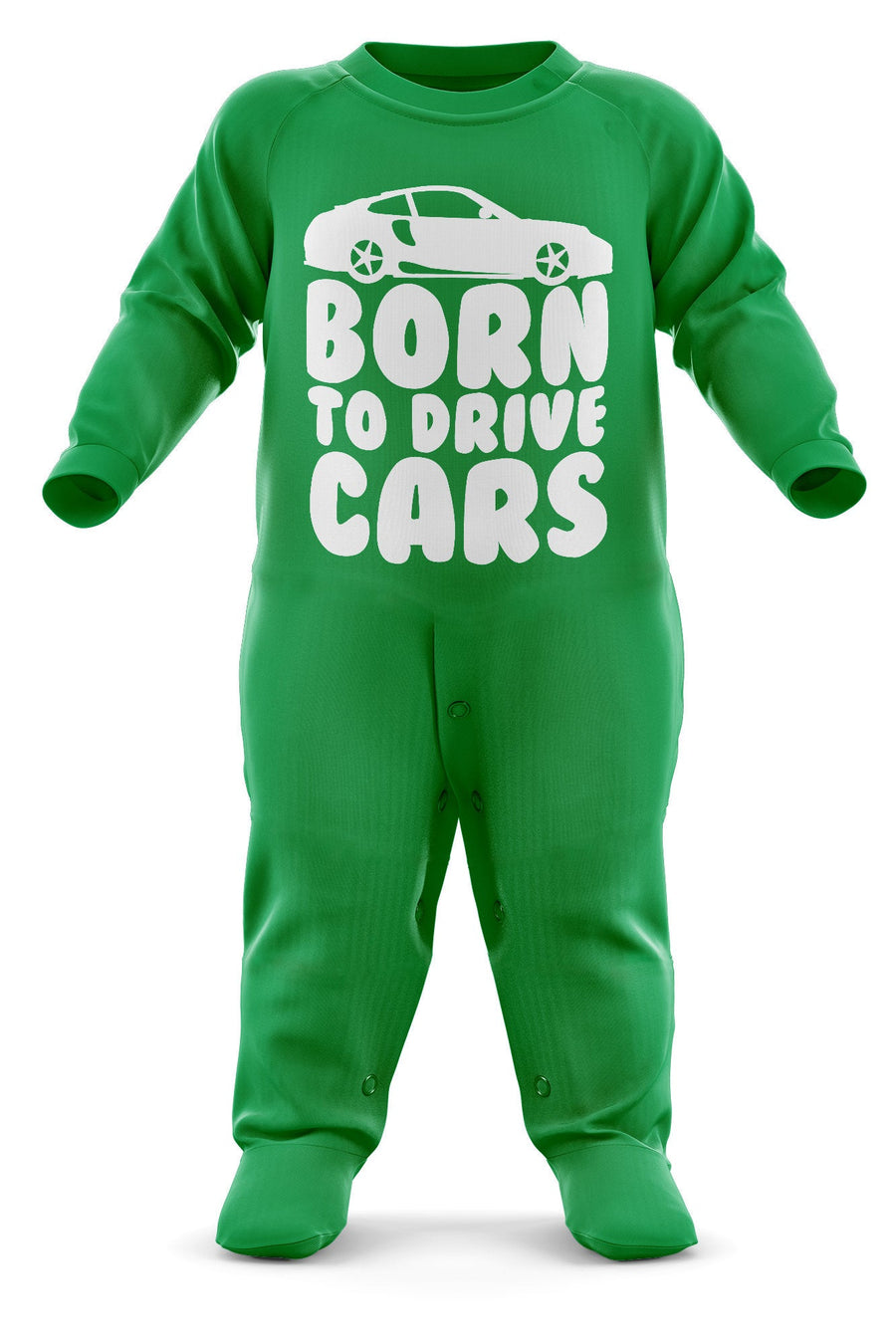 Born To Drive Cars Babygrow - Sports Car Baby Romper Suit - Babies Car Christmas Gift - Birthday Present - Newborn Romper