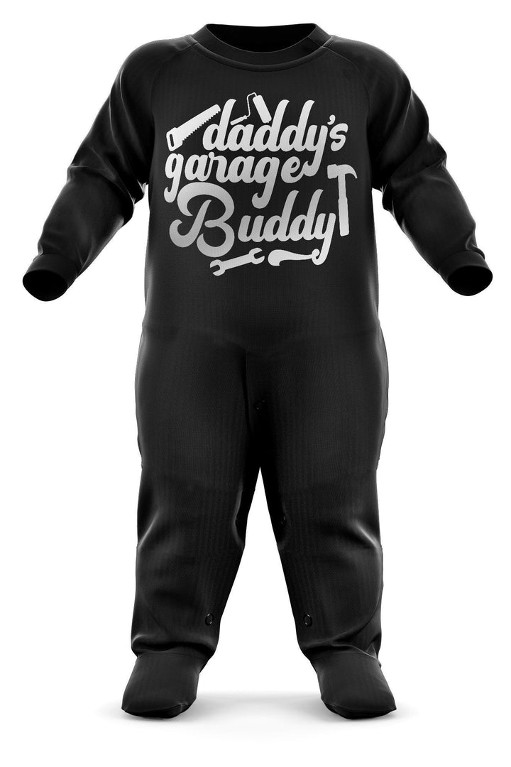 # Daddy's Garage Buddy Baby Romper Suit - Babygrow Baby Newborn Gifts - Father And Son/Daughter - Funny Cool Baby Sleepsuit