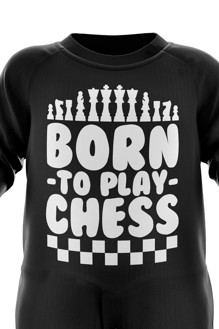 Born To Play Chess Babygrow - Board Games Baby Romper Suit - Babies Chess Christmas Gift - Birthday Present - Newborn Romper