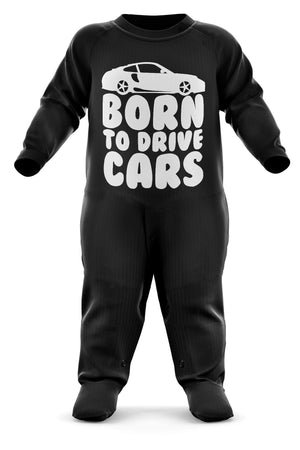 # Born To Drive Cars Babygrow - Sports Car Baby Romper Suit - Babies Car Christmas Gift - Birthday Present - Newborn Romper