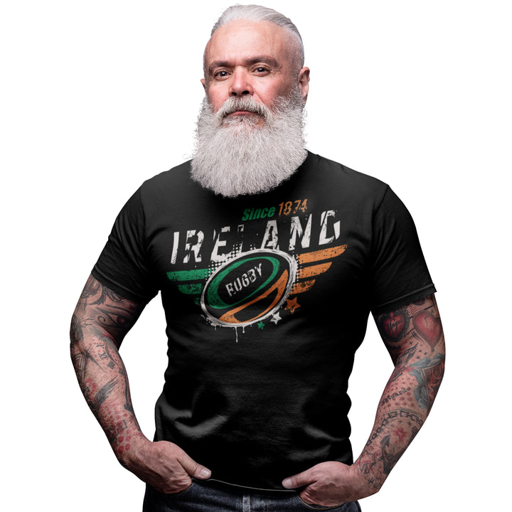 Ireland Rugby Nations T Shirt - 2019 Six Nations & World Cup Gift Idea 5/6 Years to 5XL Mens