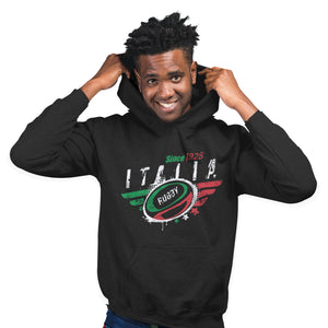 Italy Rugby Nations Hoodie - 2019 Six Nations & World Cup
