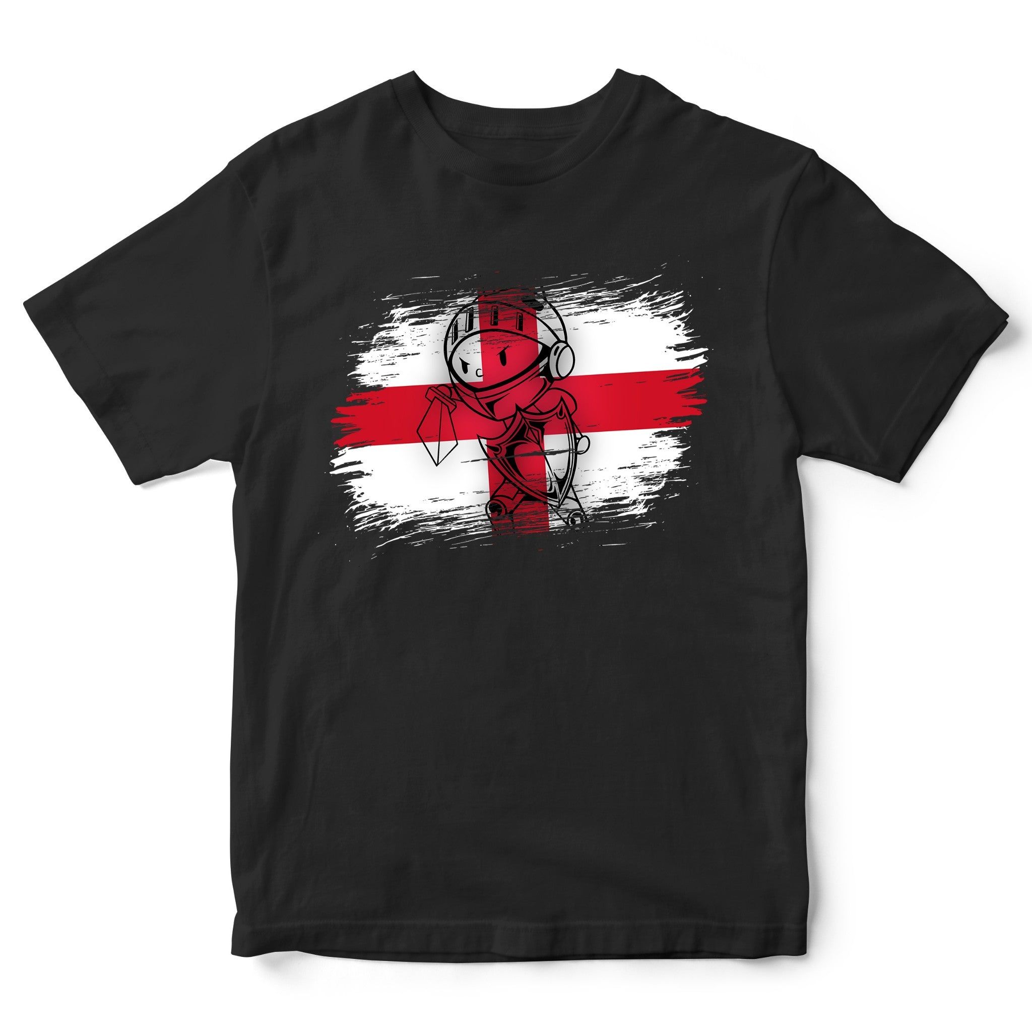 Saint George Dragon Kids Tee St Georges Day Knight England Flag T Shirt
