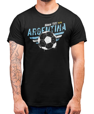 Argentina Football Supporters T Shirt - Euros 2020 Fans Tee Gift Idea