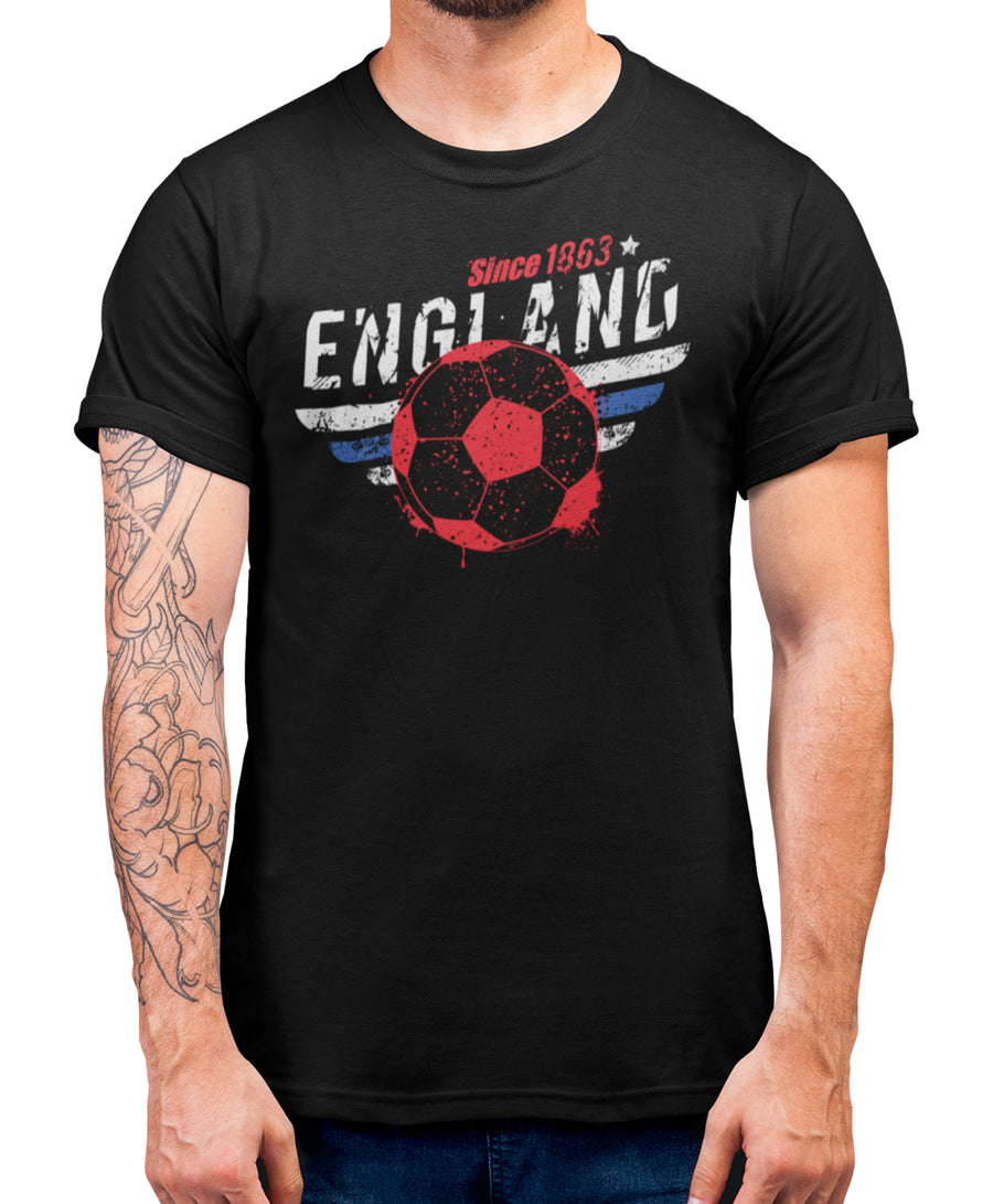 England Football T Shirt - Support England In All Competitions Including Nations League And Euros 2022