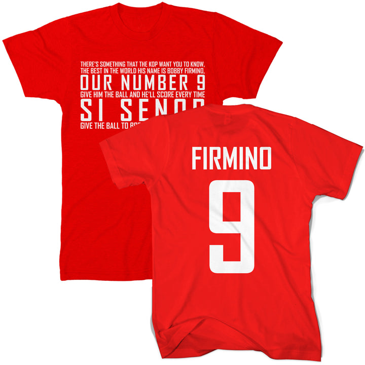 Sí Señor Firmino Liverpool T Shirt - Football Supporters Club Tee Gift Idea