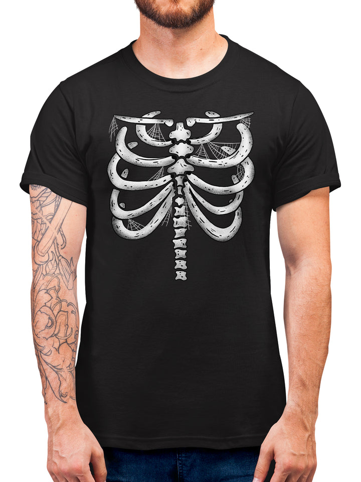 # Halloween T Shirt Skeleton Body T Shirt Halloween Costume For Adults And Kids  - Simple & Affordable Skull/Skeleton Costume For Trick-Or-Treating And Parties