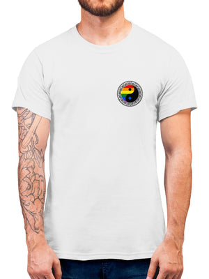 Rainbow Yin Yang Fake Pocket Gay T Shirt Gift Idea - Gay Pride Shirt - Gifts for Gays Top Present