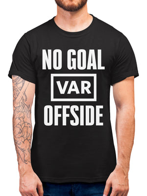 No Goal VAR Disallowed Funny Joke T Shirt - Manchester Champions Knockout League