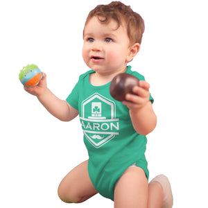 Custom St Patricks Day Babygrow - Your Name Personalised Baby Gifts