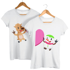 Valentines Day T Shirts - Boyfriend and Girlfriend Cringy Matching Gift