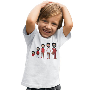 Funny Football Tshirt - Egyptian Footballer Evolution