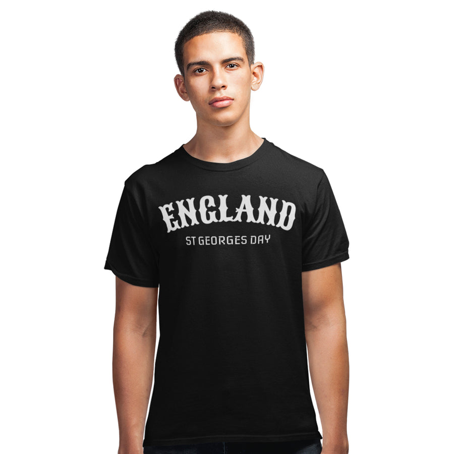 St Georges Day England T Shirt - Saint George Knight Dragon Tee