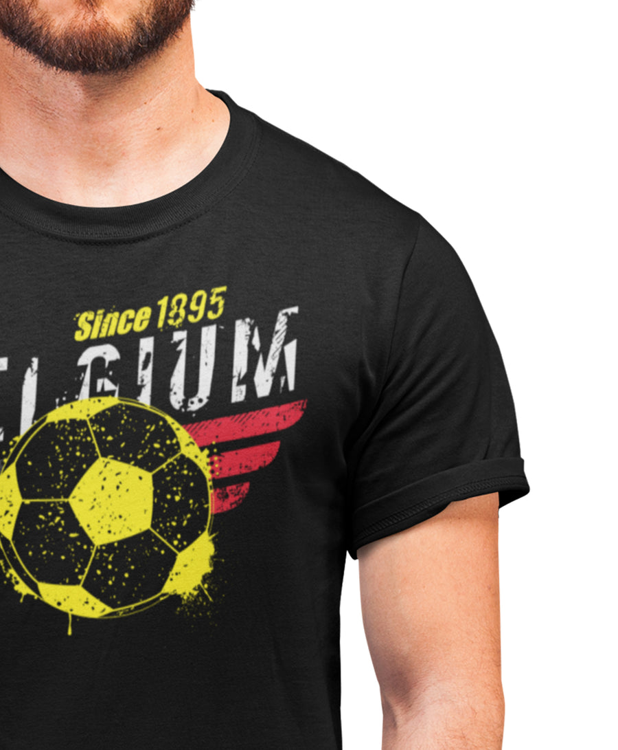 Belgium Football T Shirt - Support Belgium In All Competitions Including The Euros 2022