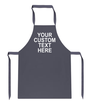 Personalised Gifts Baking Apron Your Text Accessories Chef Men Kitchen Women