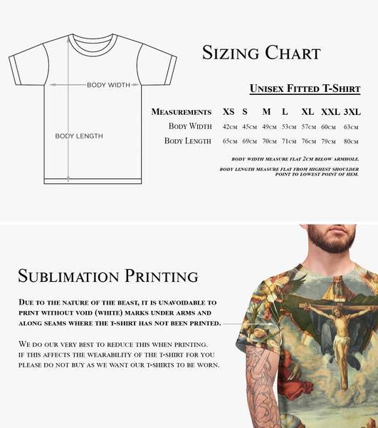 Tiger Stencil All Over Printed T Shirt Top Tee Apparel Shop Women Man Indie Swag