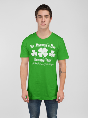 St Patricks Day Drinking Team T-shirt