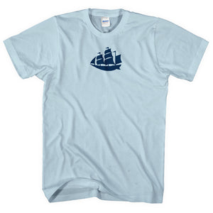 Blue Moon Manchester Ship T Shirt - Football Supporter Gift Idea