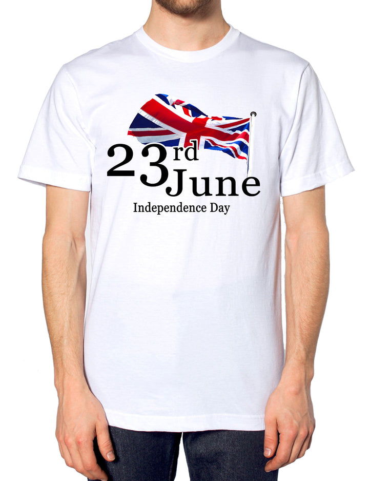 23rd June Independence Day T Shirt 2016 United Kingdom Men Women Kids Britain