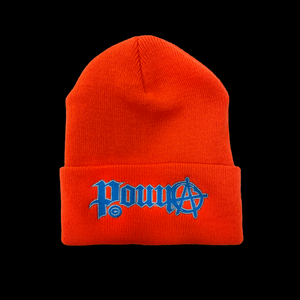 ANARCHY BEANIE - ORANGE