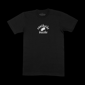 SOUTH SIDE TEE - BLACK