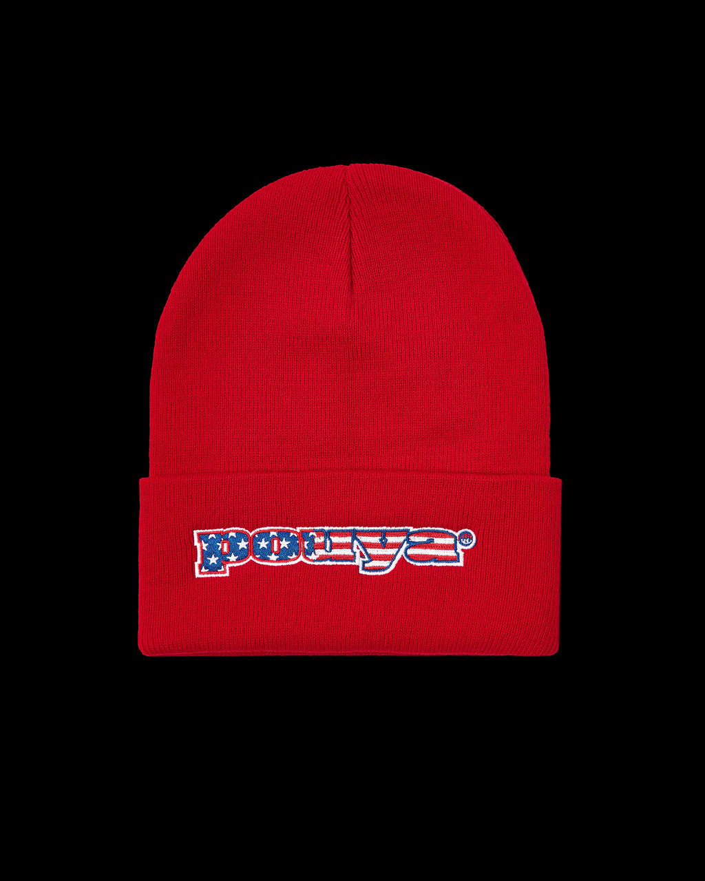 STARS & STRIPES BEANIE - RED