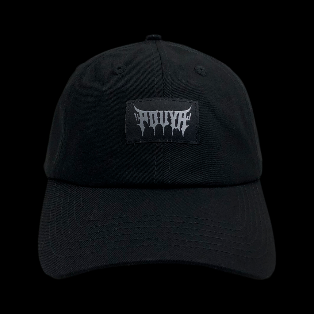 METAL DAD HAT - BLACK