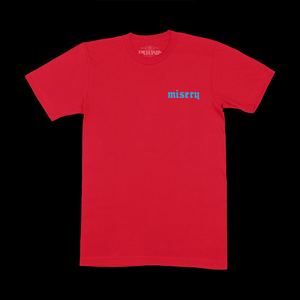 MISERY TEE - RED