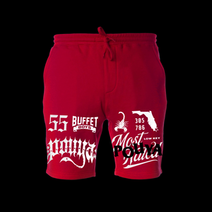MOST HATED SHORTS - RED